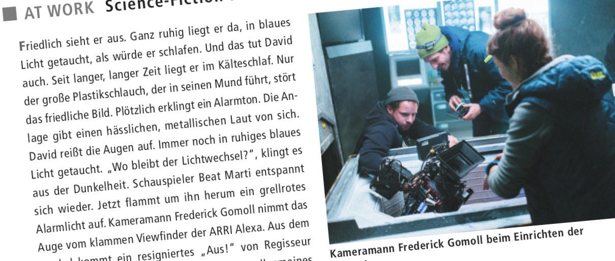 American Cinematographer - Kryo - PRESS